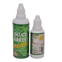 Gluco Arrest Drops 50ml ( Pack of 2 Bottles)